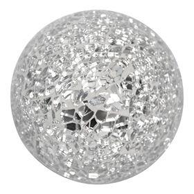 crushed mosaic mirror decorative orb - Decorative Orbs