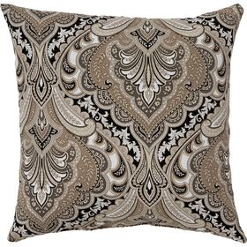 Grovedale Ebony Square Pillow