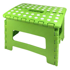 Picture of 9  FOLD STEP STOOL GRN MD