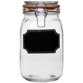 Picture of 50-oz Chalk It Up Dot Food Canister