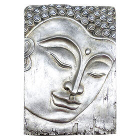 Picture of Silver Buddha Wall Decor 20-in
