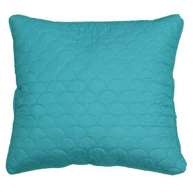 Picture of Teal Quilted Pillow - 18in