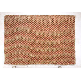 Picture of B190 Red Criss Cross Jute Rug