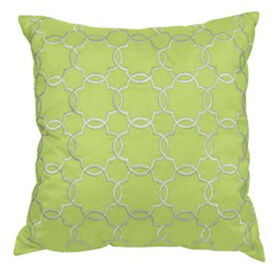 Picture of Dillon Sage Embroidered Pillow- 18 in.