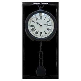 Picture of 10 X 24-in Black Pendulum Clock