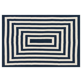 Picture of D276 BRAID NAVY WHITE 5X7