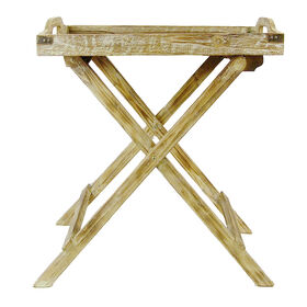 Picture of Wood Fold Tray Table 25 x 14