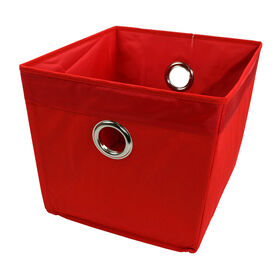 Picture of Large Red Storage Bin with Grommet