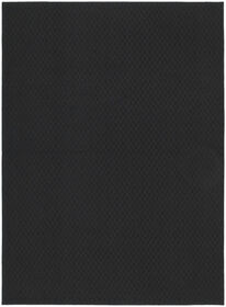 Picture of Solid Black Town Square Accent Rug 17 X 27-in