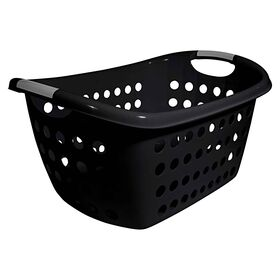 Picture of Black Laundry Basket with Two Handles