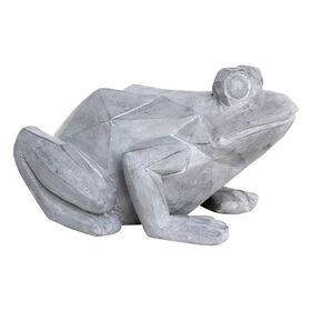 Picture of Modern Frog Garden Outdoor Decor- 8-in