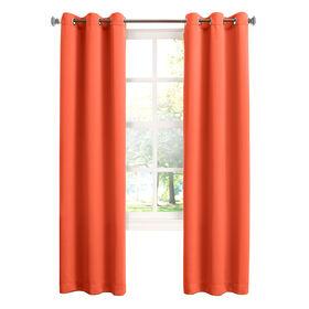 Picture of Tangerine Talita Room Darkening Window Curtain Panel 84-in