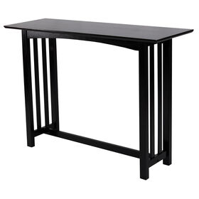 Picture of Black Mission Sofa Table