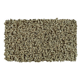 Picture of Green Paper Shag Accent Rug 20 X 34-in