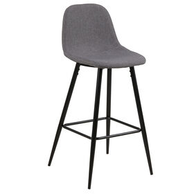 Picture of WILMA 24IN COUNTER GREY CHAIR