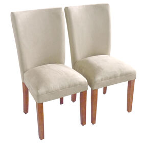 Picture of Tahoe Tan Microsuede Parsons Chair