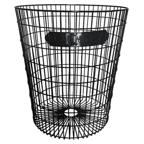 Picture of WIRE HAMPER LT GRY LAUNDRY TAG
