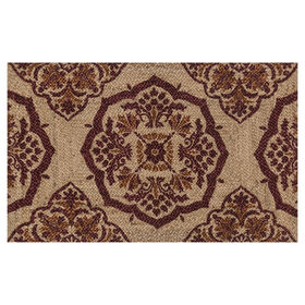 Picture of Red Orange Accent Rug 27 x 45