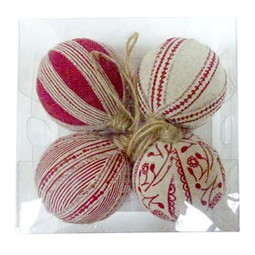 Picture of Fabric Ornaments- Set of 4