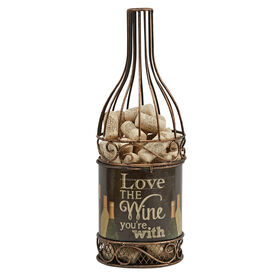 Picture of Wine Bottle Cork Holder - Love the Wine