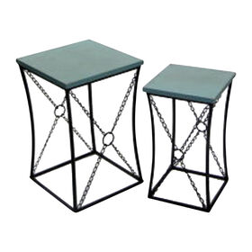 Picture of Nested Circle Chain Table - Large (Sold Separately)