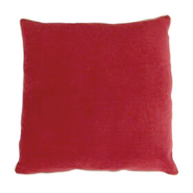 Picture of Walton Velvet Pillow- Red 22-in