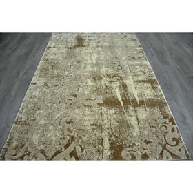 Picture of A201 Beige Newbury Damask Rug
