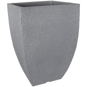 Picture of Charcoal Square Planter- 11.8 in.