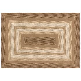 Picture of D321 Beige Braid Rug- 5x8 ft