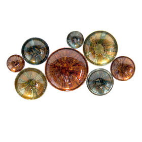 Picture of 45 X 23-in Reactive Glaze Bowl Wall Décor