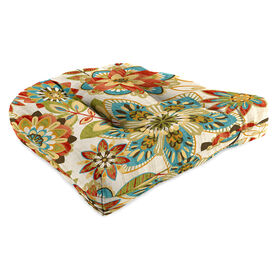 Picture of Trendi Teal Wicker Seat Cushion