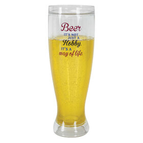 Picture of 16 oz Insulated Beer Pilsner Glass
