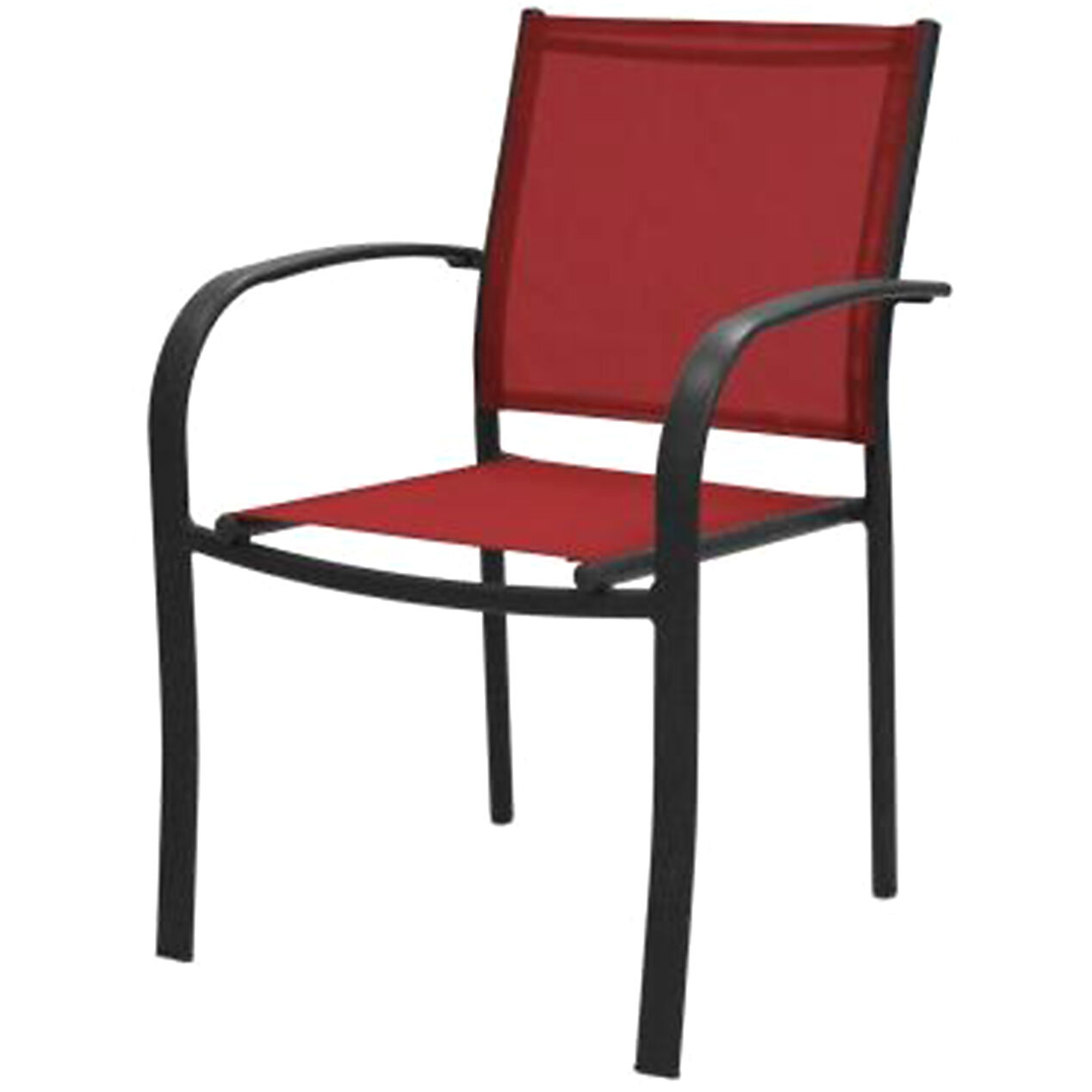 Red Sling Low-back Chair ...