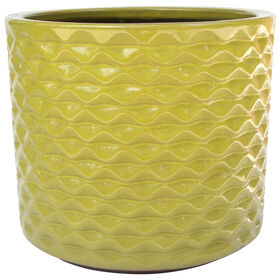 Picture of 14.6 IN PINA PLANTER GREEN
