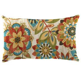 Picture of Trendi Teal Rectangular Pillow