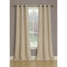 Picture of Melbourne Curtains - Ivory, 84-in.