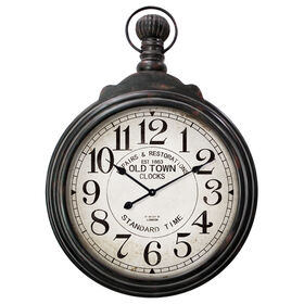 Picture of 28 X 38-in Large Watch Pocket Clock