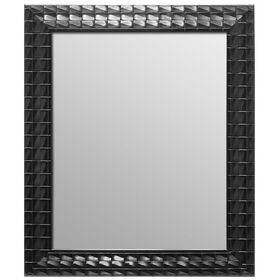 Picture of 16 X 20-in Black Ornate Beveled Mosaic Mirror