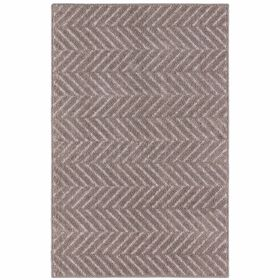 Picture of  TWILLVILLE CHEVRON GRAY 30X46