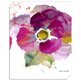 Picture of AA TEX 11X14 POPPY FLOWER