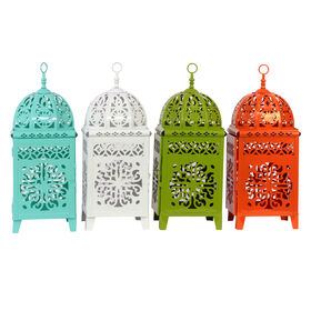 Picture of Assorted Moroccan Metal Stand Lantern (sold separately)