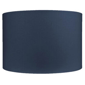 Picture of Blue Oval Lamp Shade 14X10-in