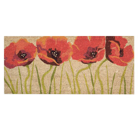 Picture of FIELD OF POPPIES 18X40