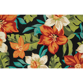 Picture of E104 Tropical Floral Rug