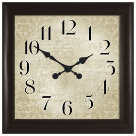 Picture of 30-in Bronze Damask Clock