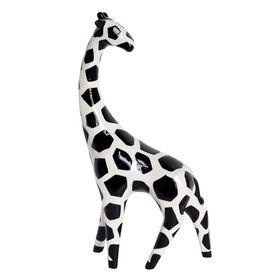 Picture of Ceramic Black and White Giraffe- 11.5 in.