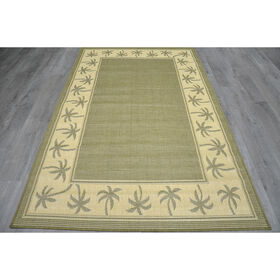 Picture of Green Miami Mais Rug 5 X 7 ft