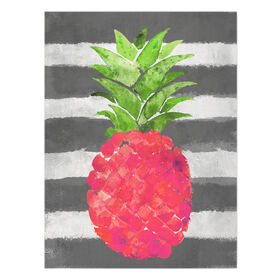 Picture of Pink Pineapple Canvas Wall Art- 12x16 in.