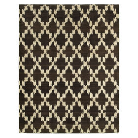Picture of Brown Tribal Annecy Rug 8 X 10 ft