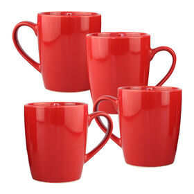 Picture of S/4 12 OZ MUG RED